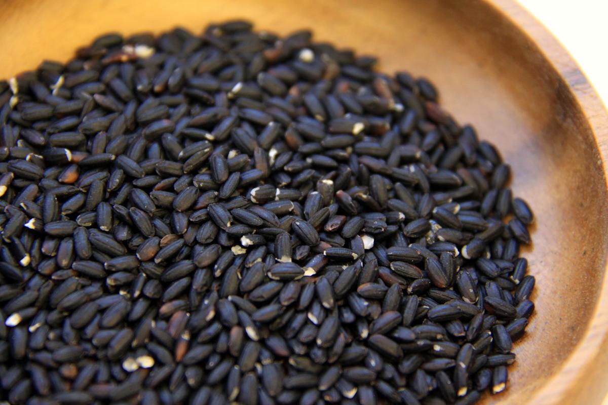 おぐに雑穀【黒米】|わたなべ農園 ネコポス送料無料
