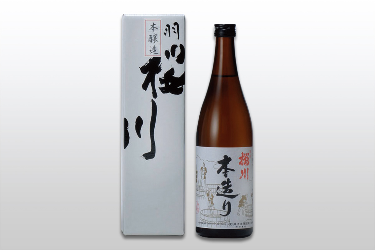 羽前桜川 本醸造 720ml
