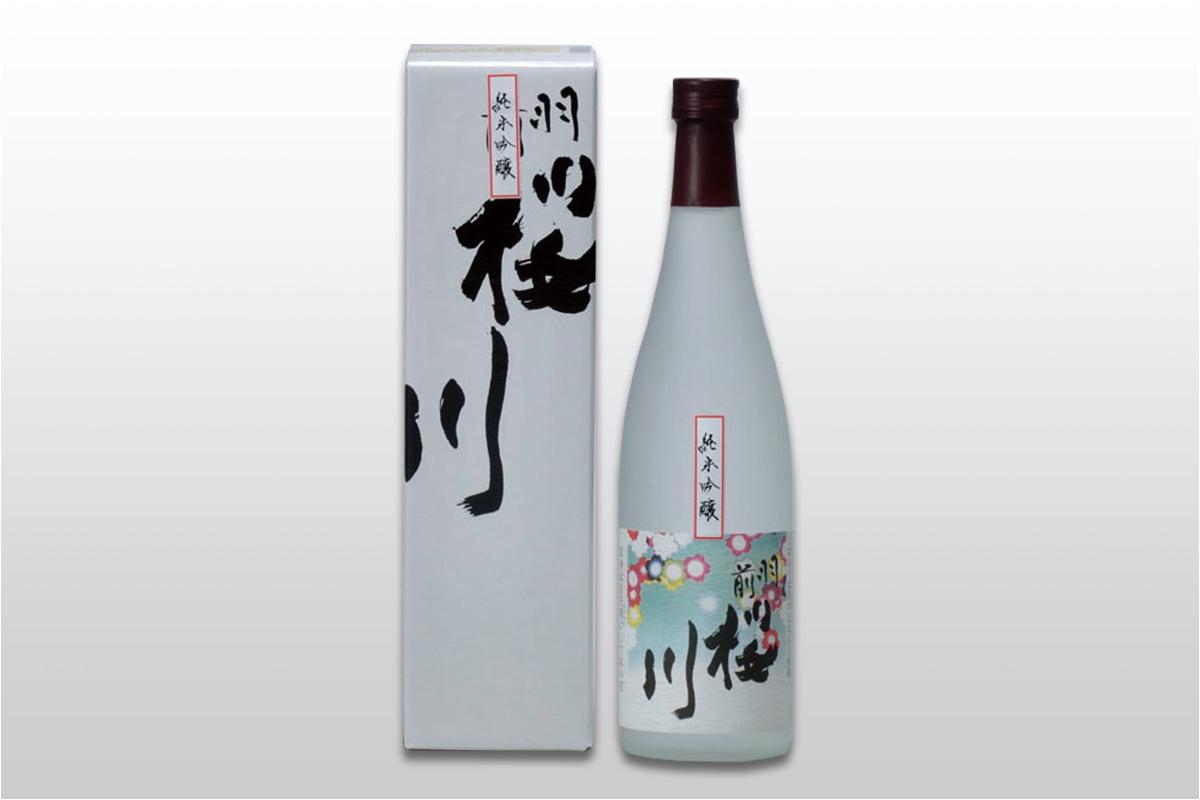 羽前桜川 純米吟醸 720ml