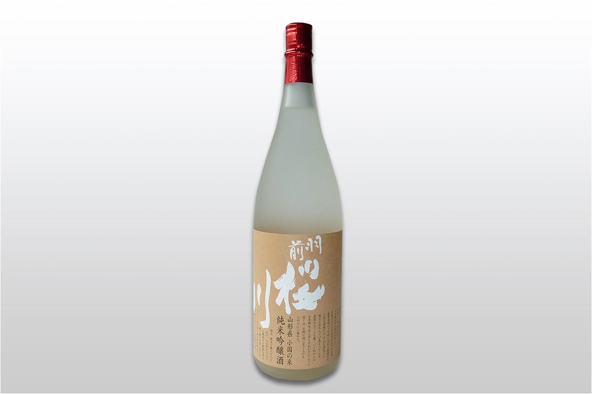 羽前桜川 純米吟醸 小国米出羽の里使用 1800ml