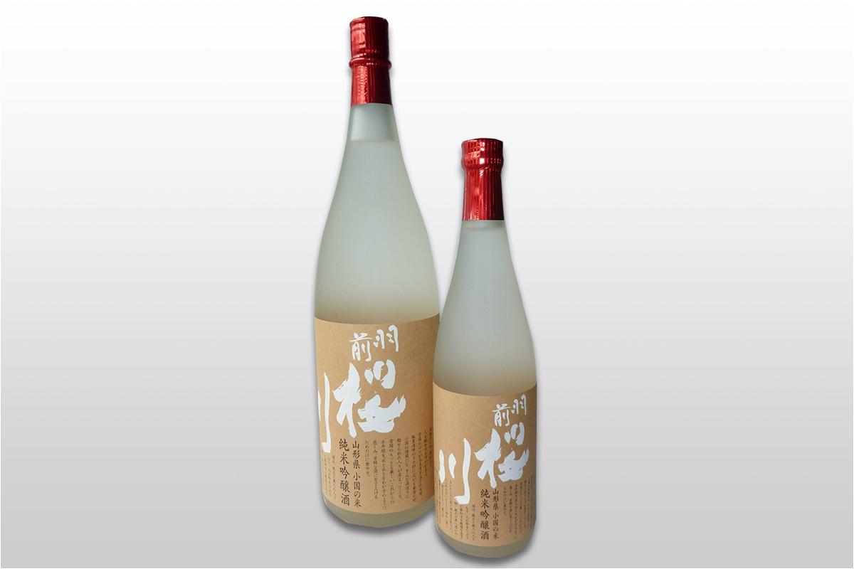 羽前桜川 純米吟醸 小国米出羽の里使用 720ml