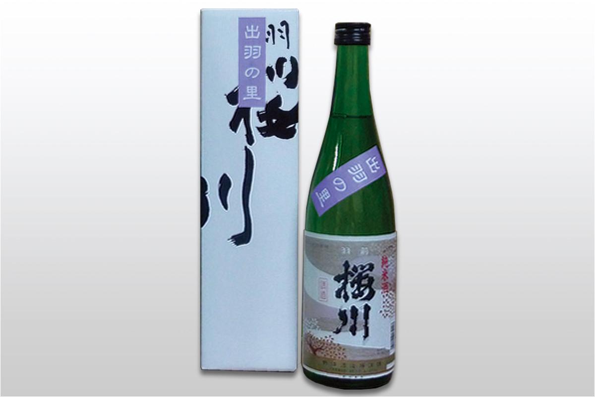 羽前桜川 純米酒 720ml