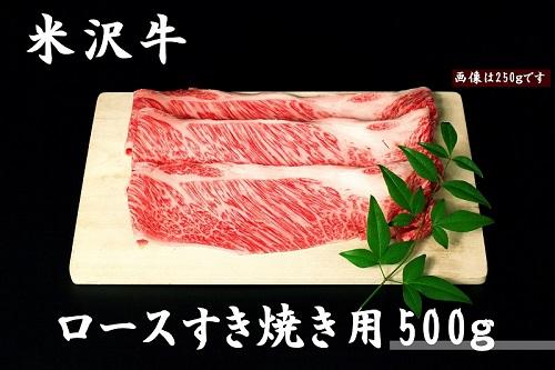 米沢牛すき焼き用&まわる水セット